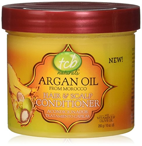 TCB Naturals Argan Oil Hair & Scalp Conditioner, 10 Ounce (Hair Oil Scalp)
