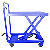 I-lift Equipment Hu-Lift Equipment TC45P Mobile Scissor Lift Table, 1000-Pound Capacity, 11-Inch to 34-1/2-Inch Height