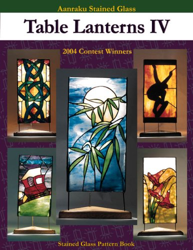 Stained Glass Panorama - Table Lanterns IV