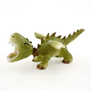 Top Collection 4413 Miniature Fairy Garden & Terrarium Mini Dragon Roaring Statue, Small