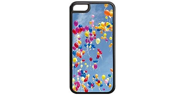 7937fdba6b8 Fly Away globos - duro plástico negro con rígida interior suave de goma  forro - para Apple Iphone 6 solamente (no el iPhone 6 Plus): Amazon.es:  Electrónica