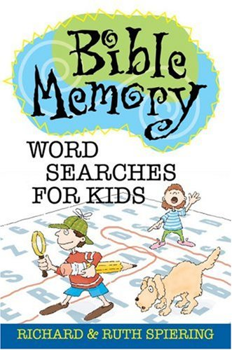Read Online Bible Memory Word Searches for Kids PDF