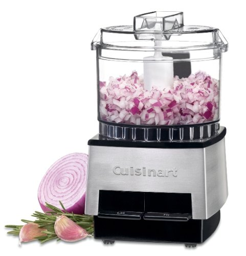 Cuisinart DLC-1SSFR Mini-Prep Processor, Brushed Metal (Certified Refurbished)