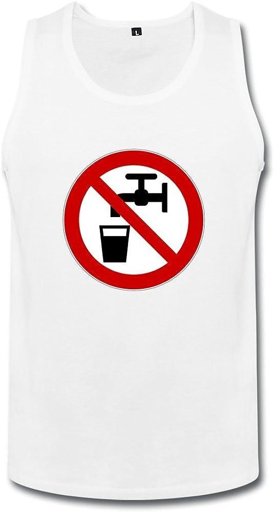 Non-potable Water Mens Non-potable Water Tank Top