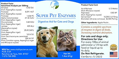Picture of Super Pet Enzymes for Cats