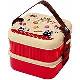 Bento: Kiki's Delivery Service Design 2-tier Bento Lunch Box (Vol. 620ml+630ml)