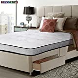 Spectra Orthopedic Mattress 1800 Individually Wrapped Pocket Coil. 9.5 Inch Medium Firm Quilted-top Mattress