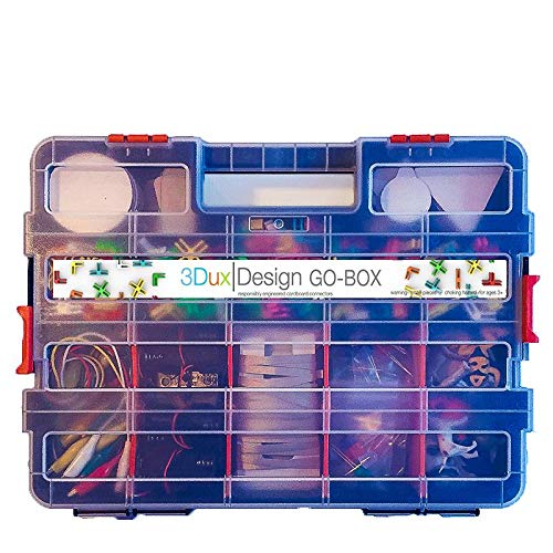 Cardboard Construction Kit with LED Lighting - Educational with Over 900 Pieces, Perfect for Learning STEM, STEAM, and Circuits in School and at Home by 3DuxDesign GOBOXPRO10 by 3DUX DESIGN (Image #8)