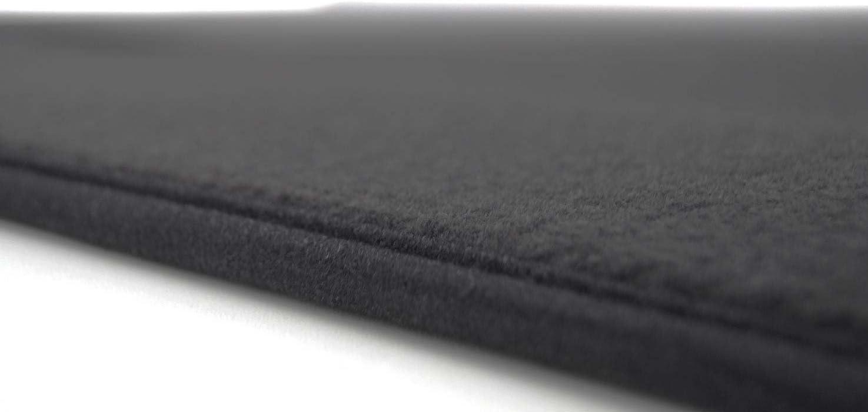 Kh Teile Fußmatten Passend Für Caddy 3 4 Premium Velours Qualität 2 Teilig Vorn Schwarz Auto