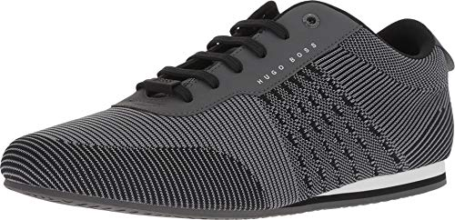 Hugo Boss BOSS Men's Ligher Sporty Knit Sneaker by BOSS Green Medium Grey 11 D US