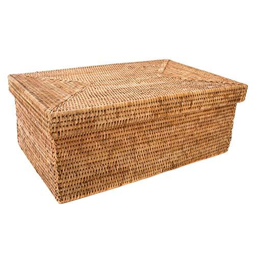 (Artifacts Trading Company Artifacts Rattan Basket, Honey Brown)