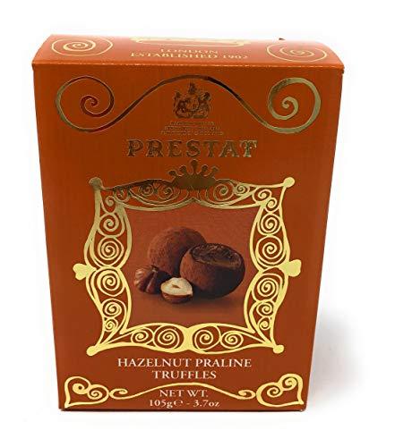Hazelnut Truffles - Prestat Hazelnut Praline Truffles, 105 grams ~ Great Britain