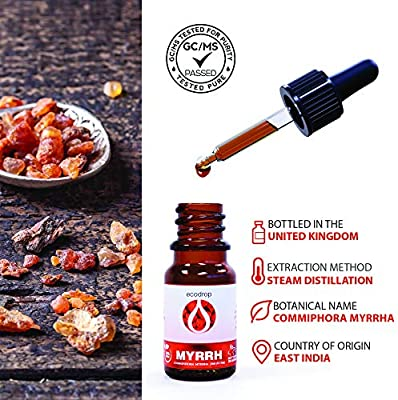 Aceite esencial de mirra (Commiphora myrrha) 100 % natural para ...