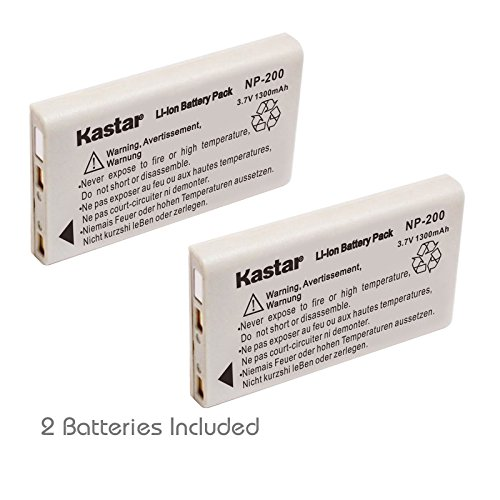 (Kastar NP-200 Lithium-Ion Replacement Battery (2 Packs) for Konica Minolta DiMAGE X, Konica Minolta DiMAGE Xg, Konica Minolta DiMAGE Xi, Konica Minolta DiMAGE Xt, Konica Minolta DiMAGE Xt Biz Cameras)