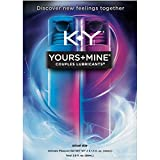 K-Y Yours + Mine Couples Personal Lubricants, 3.0 oz (Pack of 4)