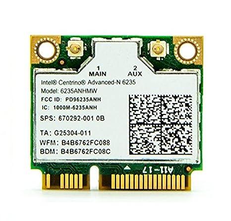 3 CTOP tarjeta inalámbrica para 6235 AN 802.11 ac Dual Band ...