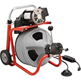 Ridgid 26998 K-400 115Volt Drum Machine with 1/2-inch by 75-foot C45 Integral Wound Cable