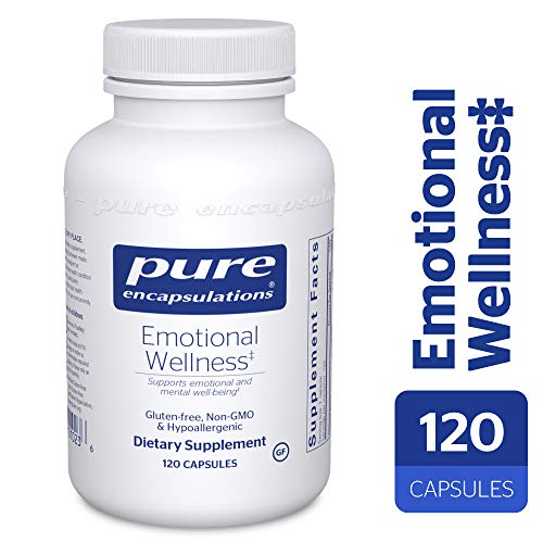 Pure Encapsulations - Emotional Wellness - Supports Mental Well-Being and Helps Moderate Occasional Stress* - 120 Capsules