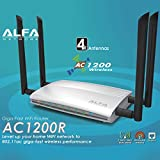 Alfa-High-Power-Gigabit-AC1200-Router-80211ac-wide-range-WiFi-Router-wireless-Up-to-1200Mbps-Gigabit-LANWAN-for-HD-video-streaming-Gaming-more