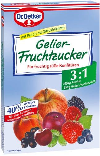 Dr. Oetker Gelier Fruchtzucker, 6er Pack (6 x 350 g Packung)