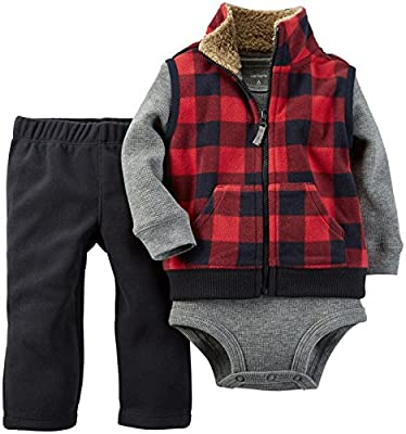 Baby Boys' 3 Piece Micro Vest Set by Carter's