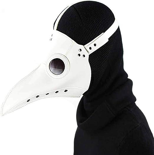 YSZDM Doctor de la Peste Máscara Accesorios de Halloween Disfraz ...