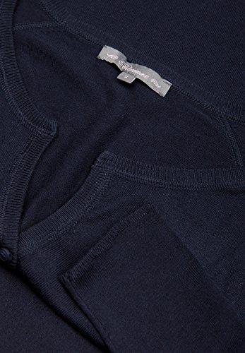 Blaumax - Jerséi - Casual - Básico - Manga Larga - para mujer azul marino
