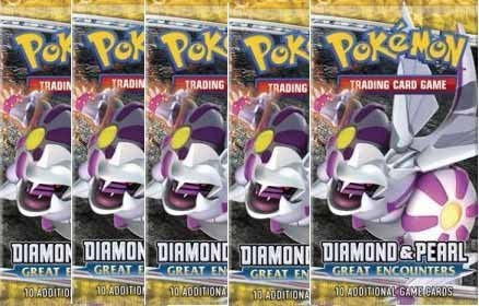 Pokemon DP Great Encounters Booster (5 Packs)