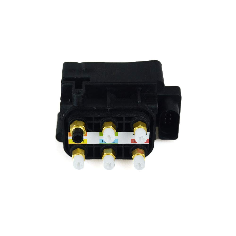 YH New 1PC Air Suspension Valve Block Fit for Mercedes Benz 2007-2015 W166 W164 W221 W251 GL Class Rear Air Supply Reference OEM 2123200358 2513200058