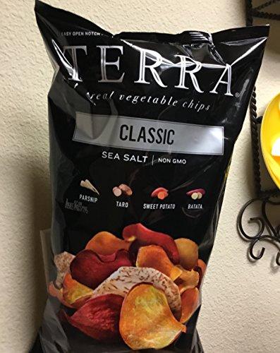Terra Real Vegetable Chips CLASSIC Sea Salt 18 oz.