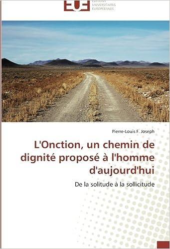 Livre gratuits L'Onction, un chemin de dignité proposé à l'homme d'aujourd'hui: De la solitude à la sollicitude epub, pdf