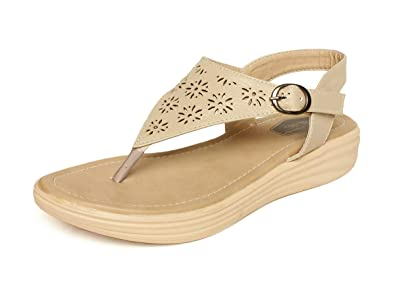 2d218d772 Vendoz Women Casual Sandals Flats  Buy Online at Low Prices in India ...