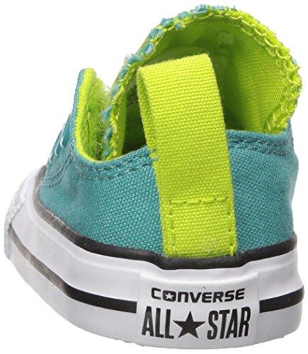 Converse Lime Blue Aegean bold nbsp;v603 All V3 white 7 Canvas Star nbsp;ox vvwqr1T