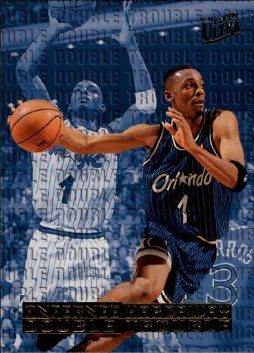 - 1995 Ultra Double Trouble Basketball Card (1995-96) #2 Anfernee Hardaway Near Mint/Mint