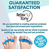 Premium Gel Toe Separators, Straighteners & Spacers | Hammer Toe & Bunion Corrector For Men & Women | Use for Pedicure, Yoga & Running