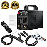 ARC Welder - Arc Welder 110V 200Amp Welding Machine IGBT Inverter AC-DC mini Electric Welders free Accessories Tools High Frequency Household Smart Welder for Novice Welders fits 3.2mm weling rods (Black)