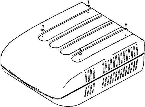 Shroud Screw - Coleman Screw/Washer 4 Pack 6792-5111