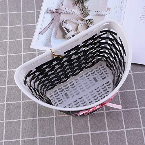 children/'s bike basket plastic bicycle bag kids scooter handle bar basket TSA QE