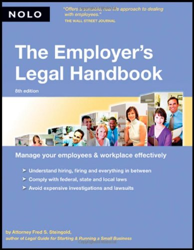 The Employer's Legal Handbook