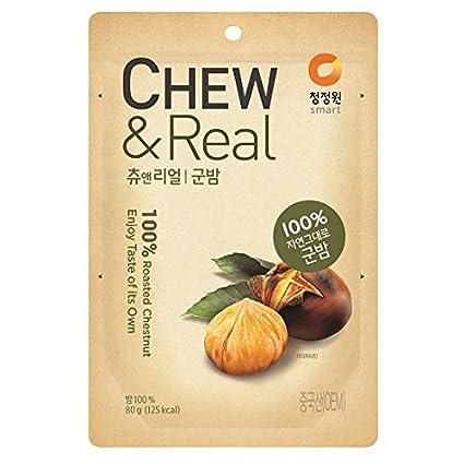 Masticar & Postre (100% Real Chestnut Masticar Snack ...