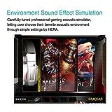 GAMDIAS Hephaestus Virtual Surround Sound 7.1 Gaming Headset with USB, Blast Source Identifier & Heat Sink System(GHS2000)