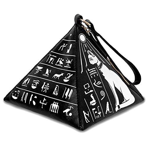 Kill Star okkult Mujer Bolso Pyramide–Bastet Pyramide funda handgelenktasche egipcio símbolos