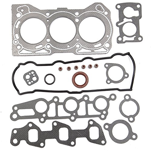 SCITOO Compatible Head Gasket Sets Replacement for fit Geo Metro Chevrolet Sprint Pontiac 1.0L SOHC G10 1989-2000 Engine Head Gaskets Automotive Replacement Gasket ()