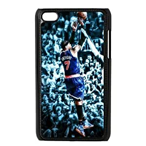 Custom High Quality WUCHAOGUI Phone case Carmelo anthony - New York Nicks Protective Case FOR IPod Touch 4th - Case-15