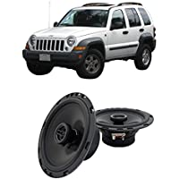 Fits Jeep Liberty 2002-2007 Rear Door Factory Replacement Harmony HA-R65 Speakers New