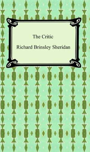 Image result for The Critic play by Richard Brinsley Sheridan