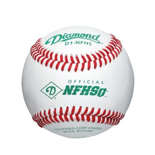Diamond High School Game Baseball Dozen by DIAMONDSPORTSCO