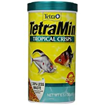 Tetra 77173 6.53-Ounce, 1-Liter TetraMin Tropical Crisps