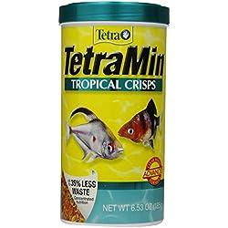 TetraMin Tropical Crisps Advanced Formula, 6.53-Ounce