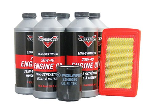 2013 Victory Vegas 8-Ball Oil and Air Maintenance Kit (Vegas 8 Victory Ball)